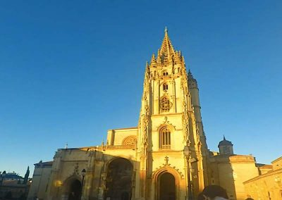 Time-Lapse of San Salvador Cathedral in Oviedo, Asturias