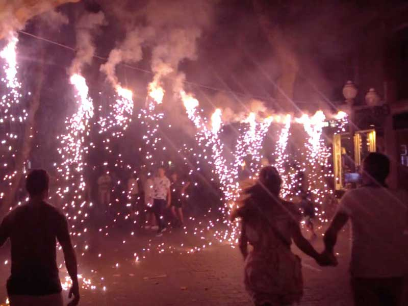 The Correfoc – An Incredible Fire-Run in Denia, Spain